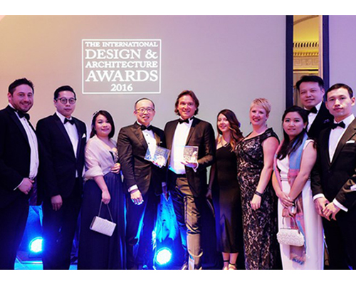 DCDA戴维国际再次荣膺2016年度ID&A设计大奖
