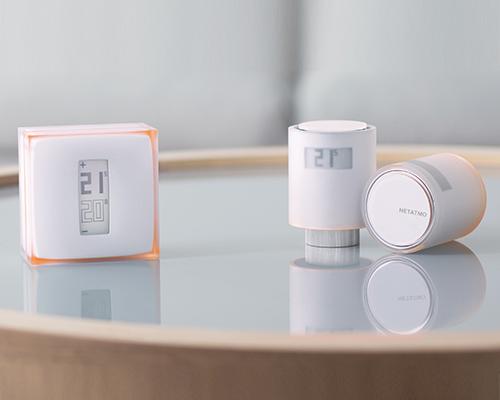 Netatmo与philippe starck合作推出语音控制家庭供暖系统的智能散热器阀门