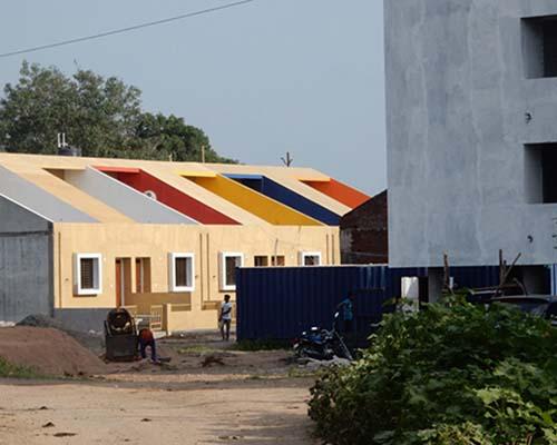 印度经济适用房,给点颜色就灿烂