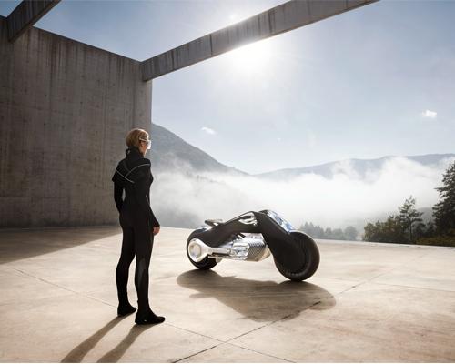 设计邦对话BMW Motorrad VISION NEXT 100概念车设计师