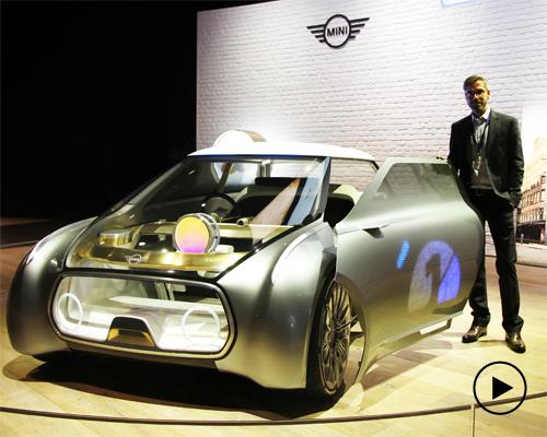 MINI VISION NEXT 100概念车:设计邦对话概念车外观设计师Christopher Weil