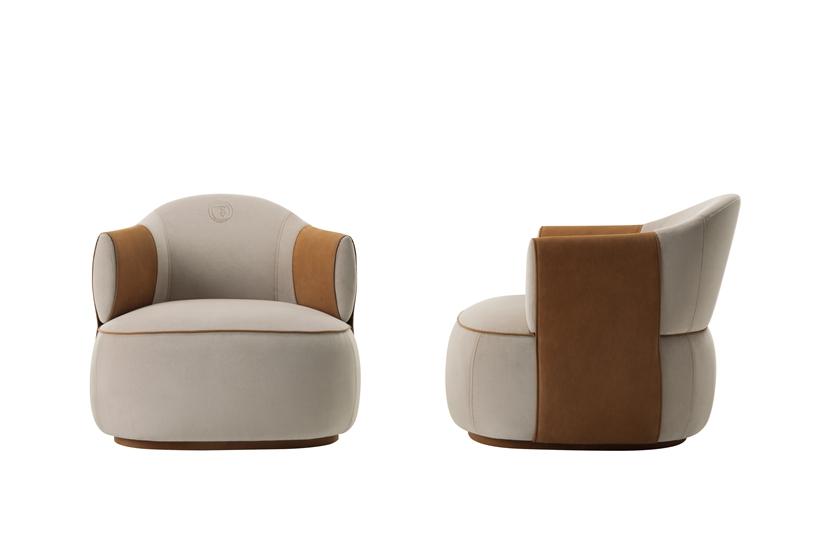 Trussardi Larzia armchairs