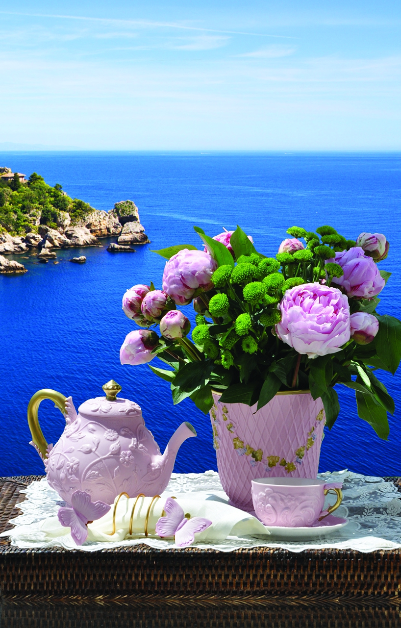 Taormina Tea time