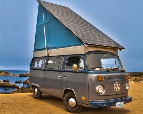 Brett Belen推出家庭专用太阳能电动大众露营车