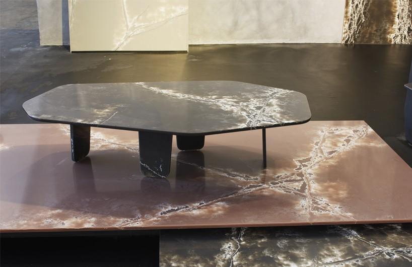 """2016迈阿密设计博览会:arik levy与制造商COMPAC合作推出装置""""冰"""""""
