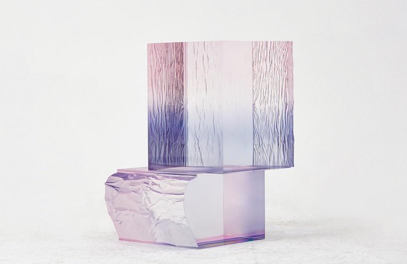 "saerom yoon创意""水晶""桌 流光溢彩惹人爱"