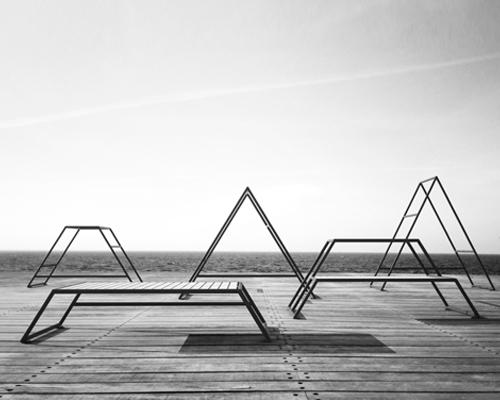 johan kauppi design推出户外健身家具 形似瑞典最高峰