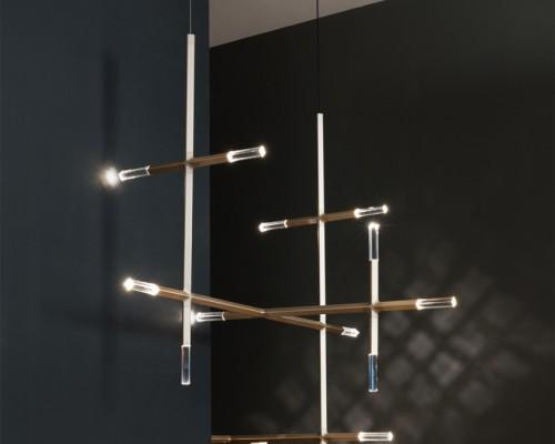 lake + wells 工作室推出未来主义灯具jax 提及星际照明