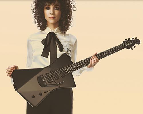专为女性设计的Music Man 全新概念St. Vincent签名款电吉他