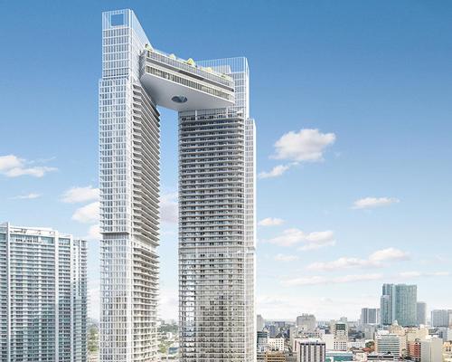 迈阿密一河点塔相遇天桥
