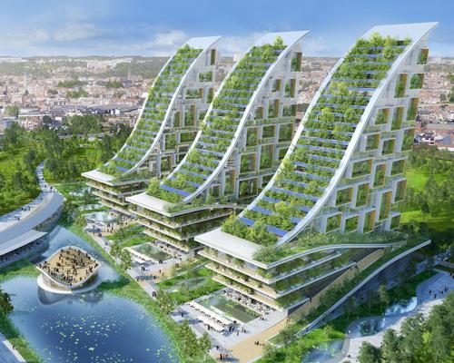 布鲁塞尔中心生态社区 功能完美集合