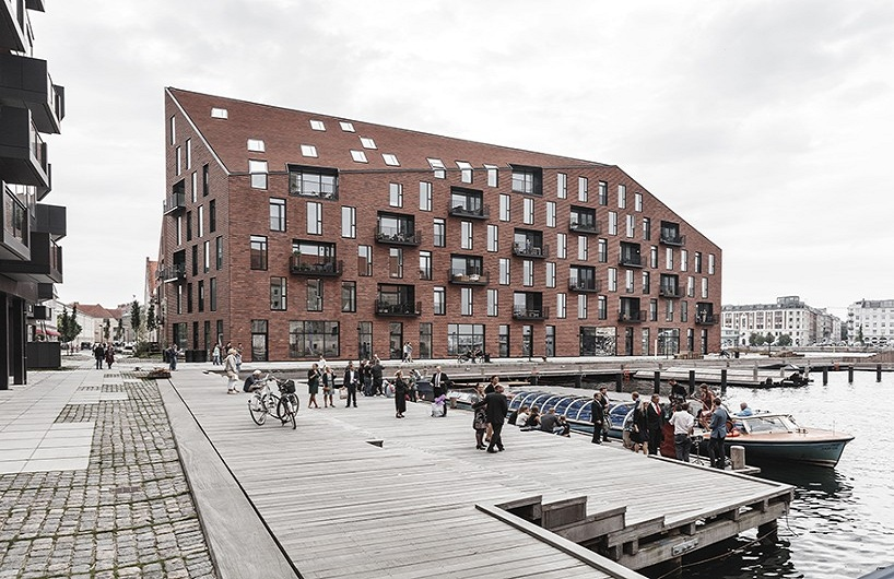 COBE + vilhelm lauritzen模仿哥本哈根住宅项目