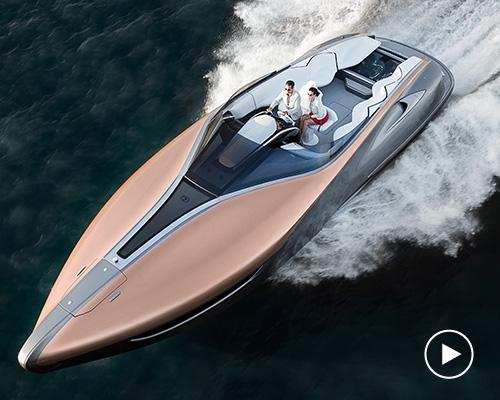 雷克萨斯推出概念运动游艇