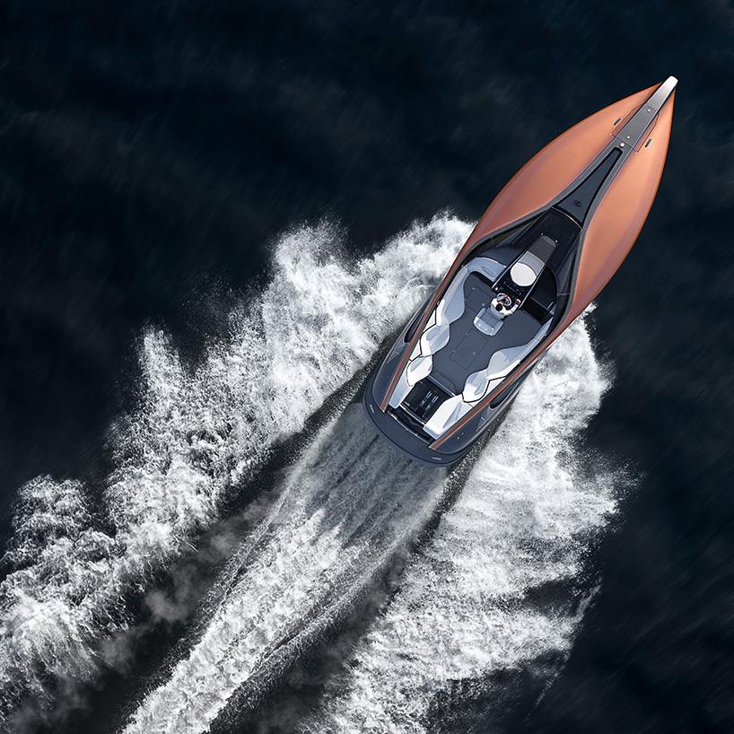 雷克萨斯推出概念运动游艇 - 工业设计 - 新湖南