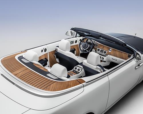 劳斯莱斯汽车将客户定制的概念发挥到了极致