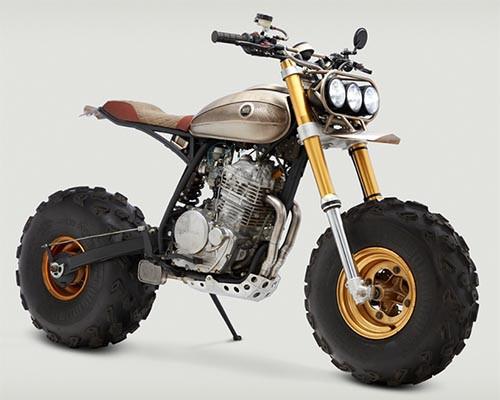 Classified Moto改装店改装1996版本田XR650L摩托车
