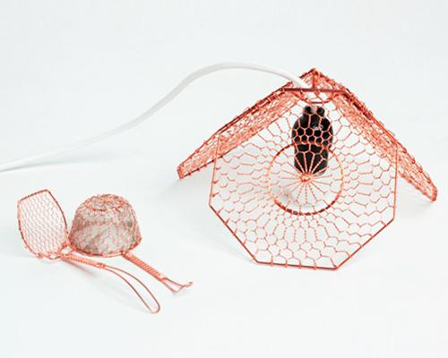 mitsue kido打造别样灯饰 灵感源自日本传统物品