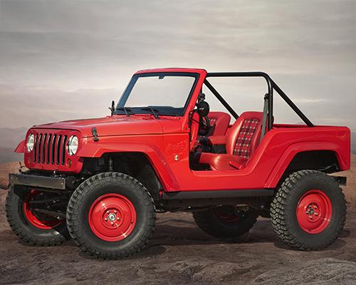 Jeep推出越野概念车Shortcut