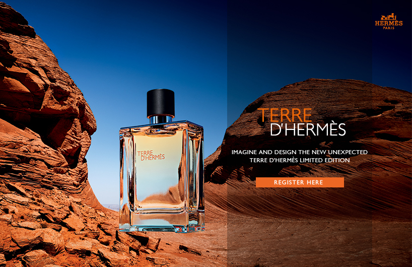 爱马仕Terre d'Hermès大地香水限量版征集大赛