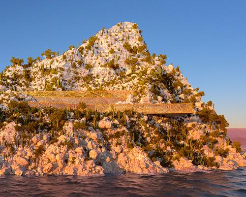 """加利福尼亚海岸线量身定制的""""mugu house"""""""