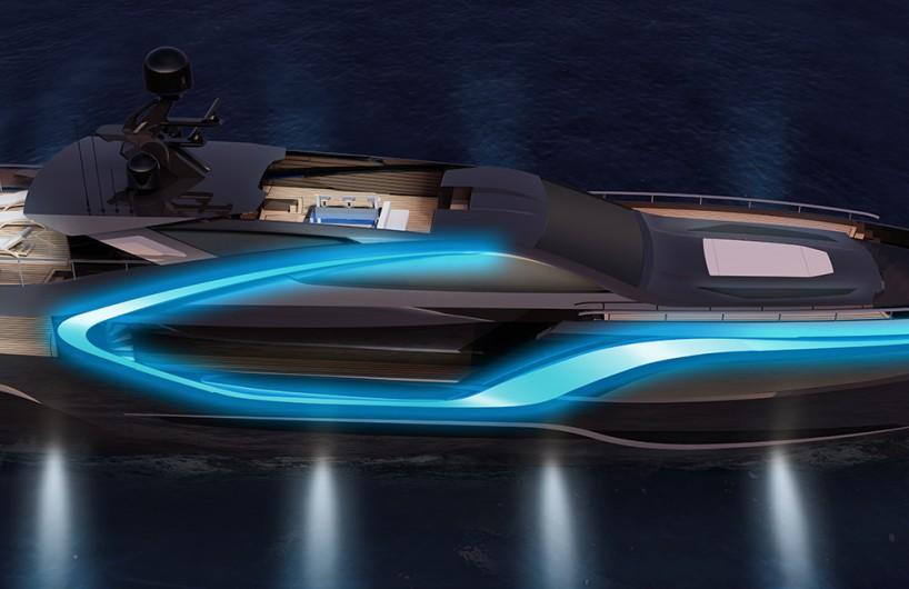 意大利游艇制造厂RossiNavi推出新款超级游艇I-TRON与Attitude