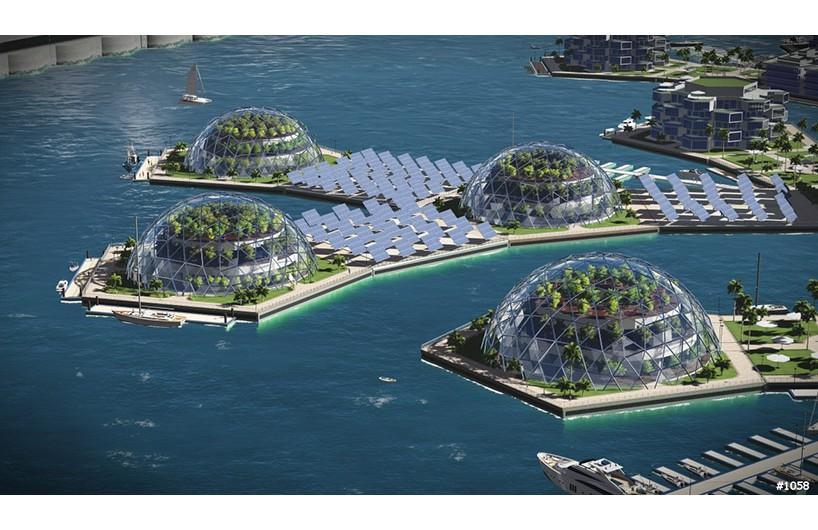 梦想中的海上漂浮城市将在2020年成为现实