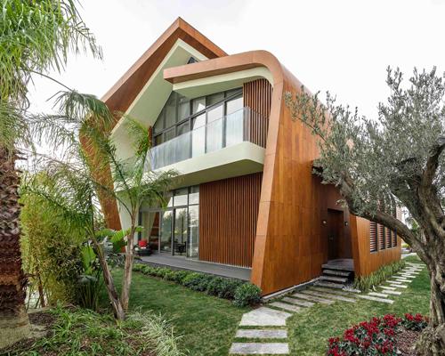 土耳其南部的可持续住宅,给住宅一个全新的诠释