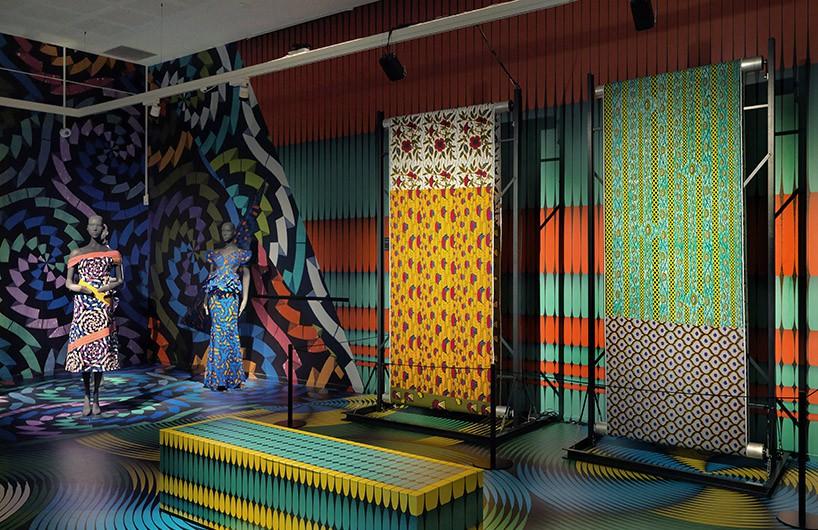 vlisco纺织品展览会 庆祝170周年纪念