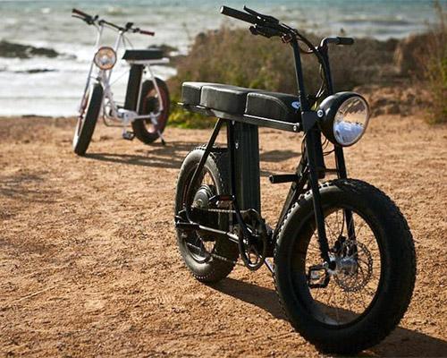 实用的两人城市电动自行车MOKE