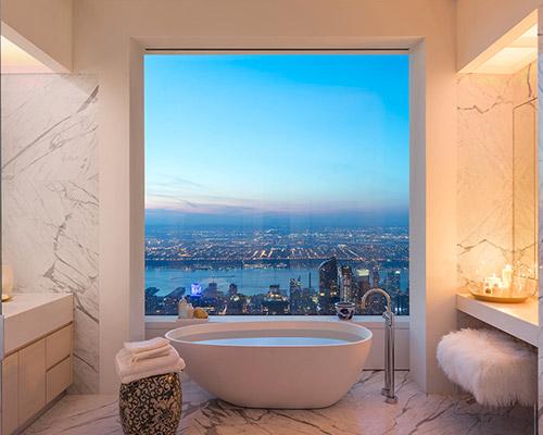 纽约最高层豪华套房,你值得拥有