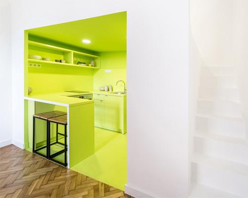 匈牙利小公寓,以一抵三,各具特色