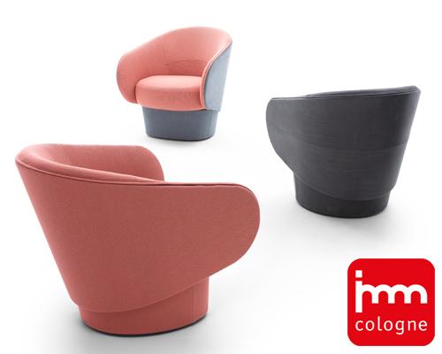 Roc亮相德国科隆展 扶手椅的现代版诠释