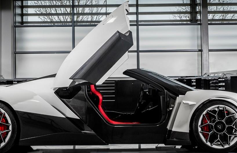 Vanda Electrics推出纯电动超跑Dendrobium即将亮相日内瓦车展