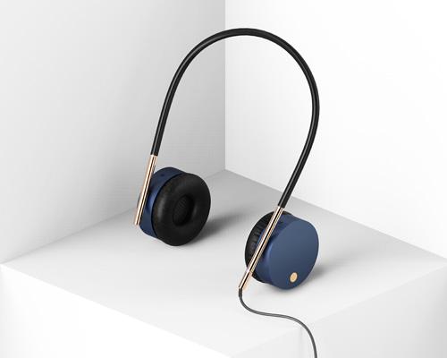 韩国设计师Kyumin Ha 推出可以站立的重力耳机