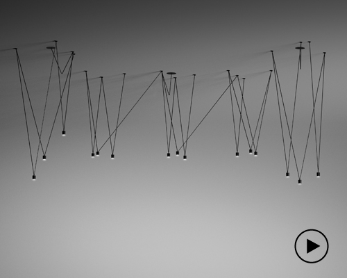 VIBIA打造雕塑灯饰 创意组合无极限