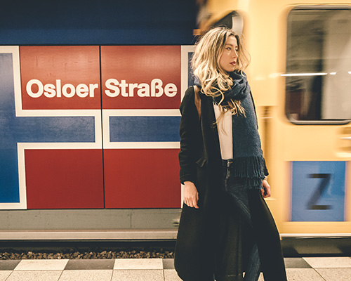pixartprinting通过地铁站捕捉柏林的灵魂
