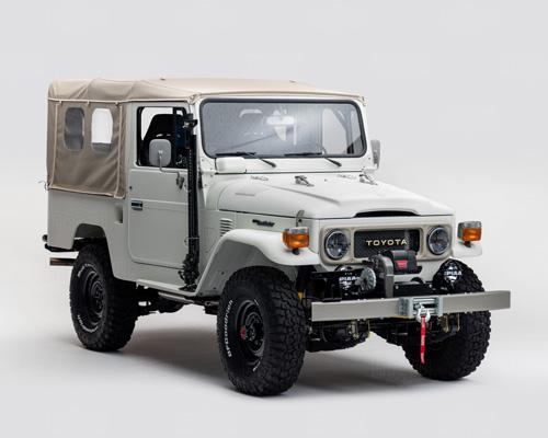 丰田不老神话FJ家族推出 改装版FJ43