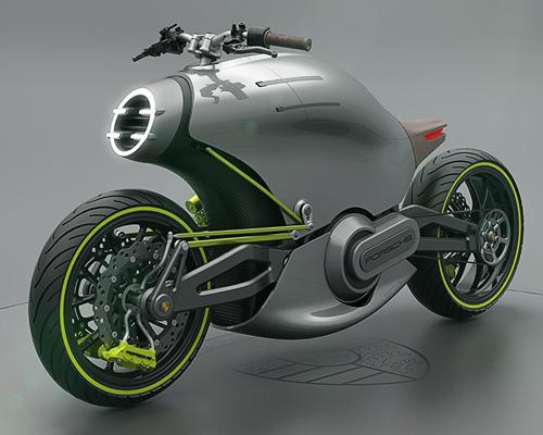 保时捷推出电动概念摩托车618