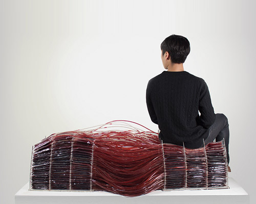 hyun-gi kim创意家具 模拟血液循环