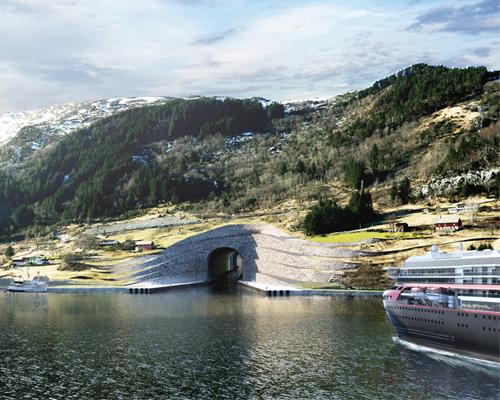 挪威全面船舶隧道 独一无二 世界NO.1