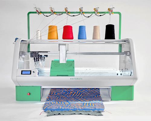 """时尚的3D针织打印机""""Kniterate"""""""