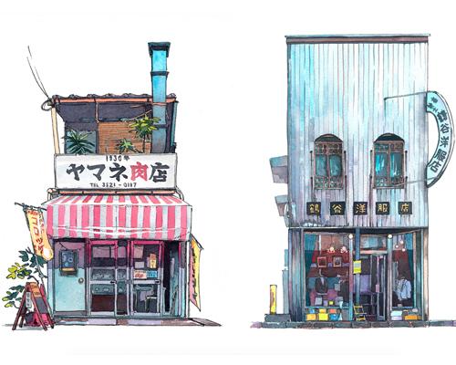 日本特色的店面在东京正慢慢消失