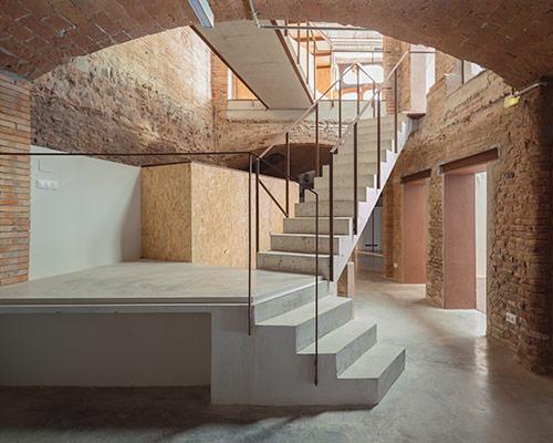 nook architects用住宅改建的工作室及商业空间