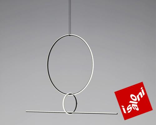 flos新款灯具 挂在空中的闪亮吊坠