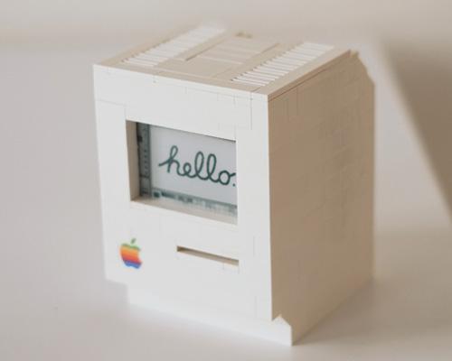 乐高推出功能完备的小电脑Macintosh