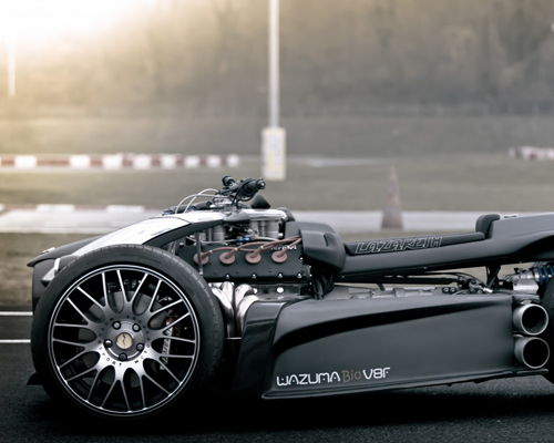 法国Lazareth打造Wazuma V8F Matt版四轮摩托