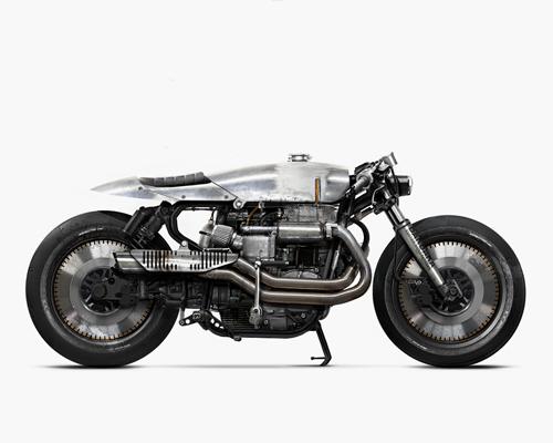 barbara改装摩托车概念图达到融合的最高境界