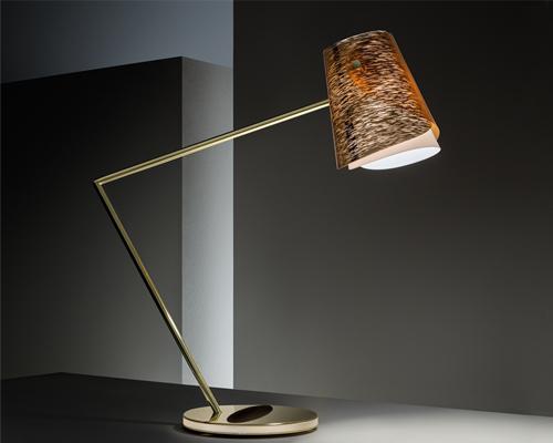 slamp& montblanc合作推出高科技书写台灯