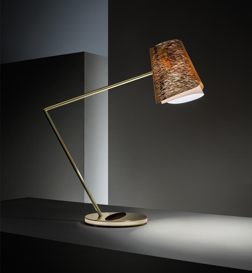 米兰设计周 | slamp 与万宝龙合作推出高科技书写台灯