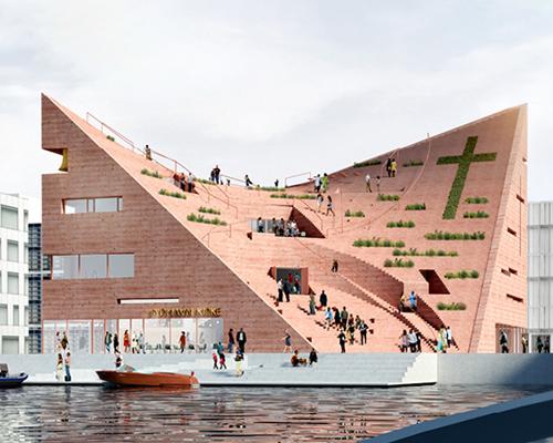 NOMOstudio在哥本哈根构想了一座多维度教堂
